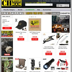 Military and Tactical Gear - Buy Service Issued New and Used Military and Tactical Gear from CHKadels.com