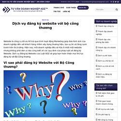 Dịch vụ đăng ký website bộ công thương - Chi phí đăng ký website