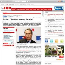 """Paillé: """"Peillon est un fourbe"""" - a vous de juger, chabot identi"""