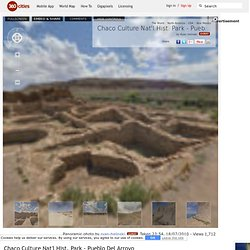 Chaco Culture Nat'l Hist. Park - Pueblo Del Arroyo