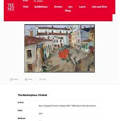 The Marketplace, Vitebsk