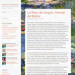 La Peau de chagrin, Honoré de Balzac