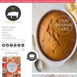 Chai Banana Cake