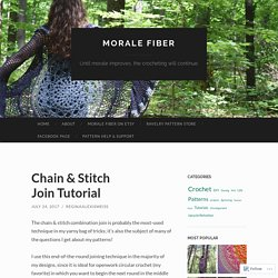 Chain & Stitch Join Tutorial