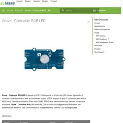 Chainable RGB LED