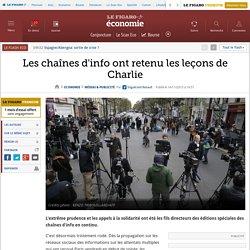 Les chaînes d'info ont retenu les leçons de Charlie