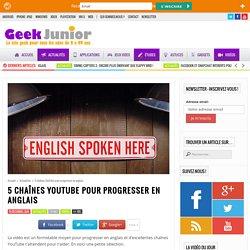 5 chaînes YouTube pour progresser en anglais