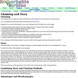 Chaining and Story (Memory Techniques)