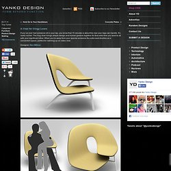 Hug Chair by Ilian Milinov & Yanko Design - StumbleUpon
