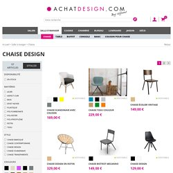 Chaise :: AchatDesign