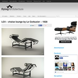 LC4 – chaise lounge by Le Corbusier – 1928