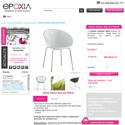 Chaise visiteur Gliss - Epoxia mobilier
