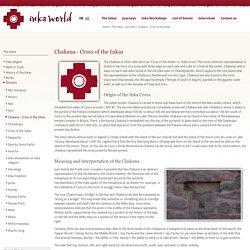 Chakana - Cross of the Inkas