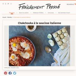 Chakchouka à la saucisse italienne