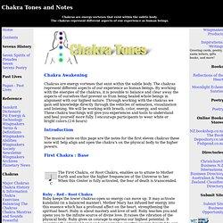 Chakra Tones and Notes