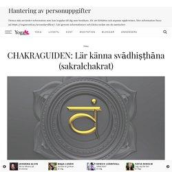 CHAKRAGUIDEN: Lär känna svādhiṣṭhāna (sakralchakrat)
