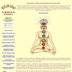 Les chakras, centres de conscience et d'energie dans le Reiki