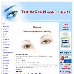 Chakras: Chakra Opening and Healing