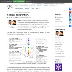 Chakras and Dantien.