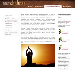 Harmonisation du Chakra Sacré