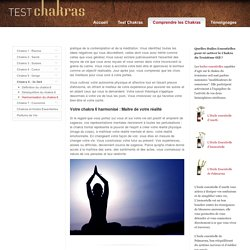 Harmonisation du Chakra du 3e oeil