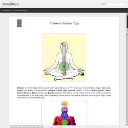 7 Chakras: Kundalini Yoga