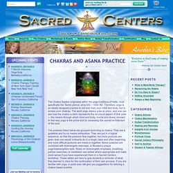 Sacred Centers - The Chakras Portal - Pathways for Personal and Global Transformation - Chakras, Videos, Workshops and Books by Anodea Judith.