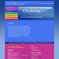 Chakras - Sound Essence