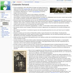 Chalandre Fernand — Wiki58