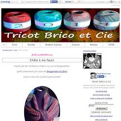 Châle à ma façon - Tricot Brico & Cie