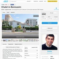 Chalet in Benicasim à Benicasim