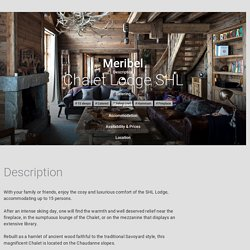 Chalet Lodge SHL, Meribel · ChaletOwners