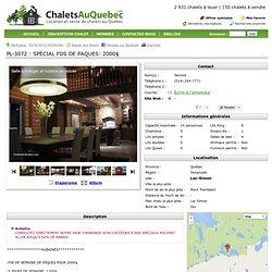 Chalet à louer Lac-Simon, Outaouais, Le Scandinave LAC-SIMON, PL-3072