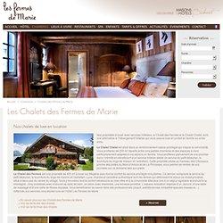 Chalets des Fermes de Marie - Hotel chalet Megève - Les Fermes de Marie : Hôtel 5 étoiles Megève