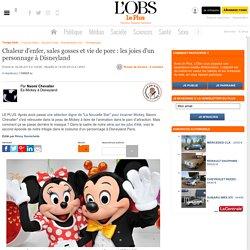 Chaleur d'enfer, sales gosses et vie de porc : les joies d'un personnage à Disneyland