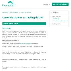 Cartes de chaleur et tracking de clics – Kameleoon