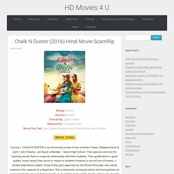 Chalk N Duster (2016) Hindi Movie ScamRip