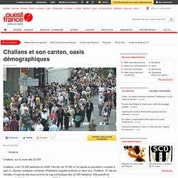 Challans et son canton, oasis démographiques