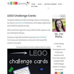 LEGO Challenge Cards - The Stem Laboratory