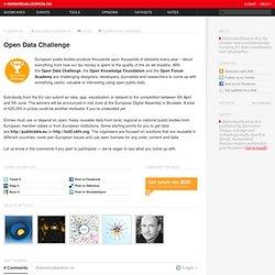Open Data Challenge on Datavisualization