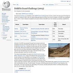 DARPA Grand Challenge (2005)
