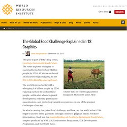 The Global Food Challenge Explained in 18 Graphics