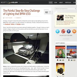 The Painful Step-By-Step Challenge of Lighting that BMW 650i