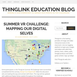 Summer VR Challenge: Mapping Our Digital Selves