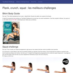 Top Body Challenge - Les meilleurs challenges fitness