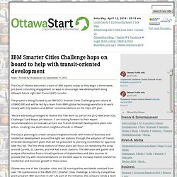 IBM Smarter Cities Challenge hops on board to help with transit-oriented development