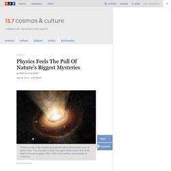 Crisis Or Challenge? The Physics Of Today : 13.7: Cosmos And Culture