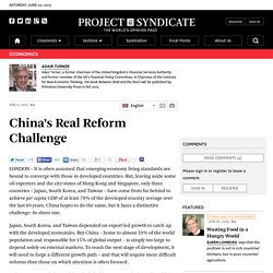 How can China reach the next stage of development?