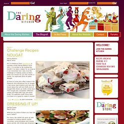 Challenge Recipes | The Daring Kitchen