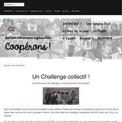 Challenge ! Réussir à faire décoller la version test de Shop&Coop